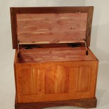 Cedar Lined 3-Panel Chest made from Local and Sustainable Wood Sources