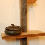 Small Live Edge Shelf No. 9 by A. Drauglis