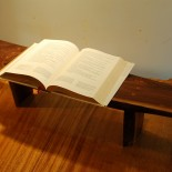 Live Edge Shelf Book Stand by A. Drauglis || Click Photo to Purchase on Etsy.com